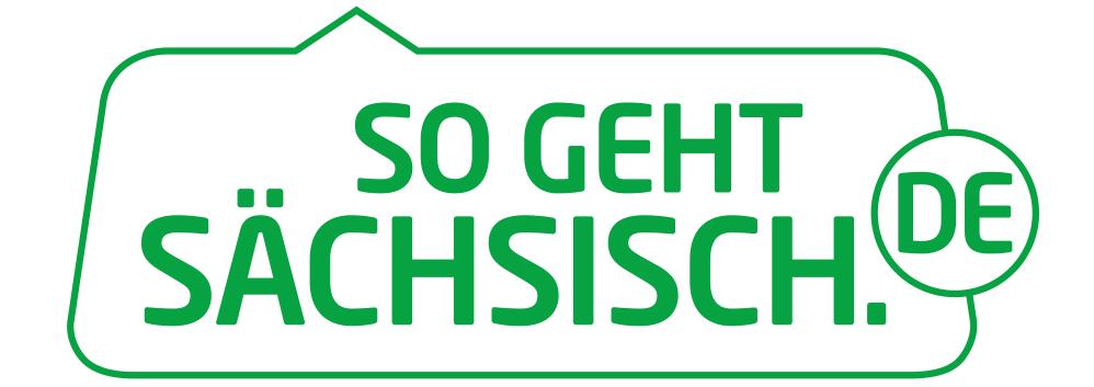 Logo So geht Sächsisch